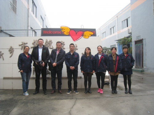 Customers from Poland Visited Huahang Filter Company to Seek for Custom Made Dust Collector